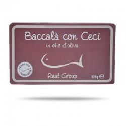 REAL GROUP Baccalà con Cecci 120 Gr