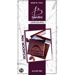 BARDINI Cioccolato Tavoletta Fondente Ecuador 70% 50gr.