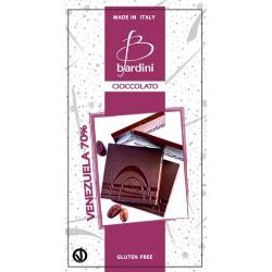 BARDINI Cioccolato Tavoletta Fondente Venezuela 70% 50gr.