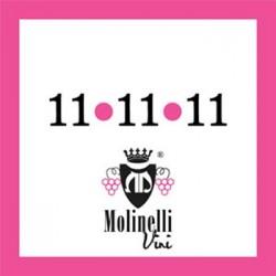 MOLINELLI 11 11 11 Vino Rosato