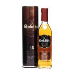 GLENFIDDICH Single Malt Scotch Whisky 15 years 70cl