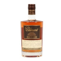 CLEMENT RHUM AGRICOLE SINGLE CASK 100% CANNE BLEUE