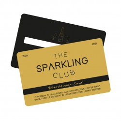 "MEMBERSHIP CARD ""THE SPARKLING CLUB"""