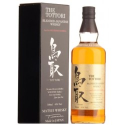 TOTTORI Blended Japanese Whisky Bourbon Cask 70cl