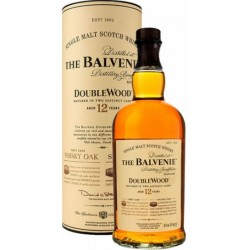 THE BALVENIE 12 Year Old Doublewood Single Malt Scotch Whisky 75cl