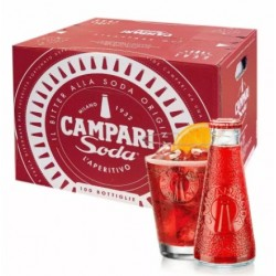 Campari Soda - Cassa 50 x 0,1 l