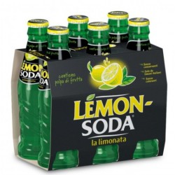 Lemon Soda in Vetro - Confezione 6 x 0,2 l