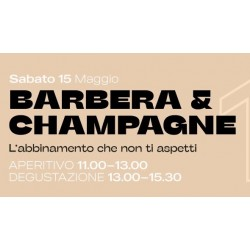 "Partecipazione Evento ""Barbera & Champagne"" - Welcome Coffee Shop"
