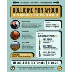 """Partecipazione Evento """"Bollicine Mon Amour"""" - Welcome Coffee Shop"""