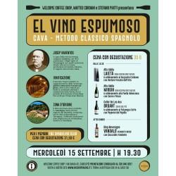 """Partecipazione Evento """"El Vino Espumoso"""" -Welcome Coffee Shop"""