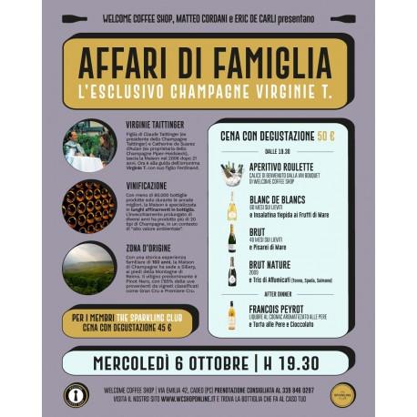 """Partecipazione Evento """"Un affare di Famiglia"""" - Welcome Coffee Shop"""