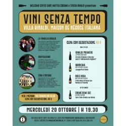 """Partecipazione Evento """"Vini Senza Tempo"""" -Welcome Coffee Shop"""